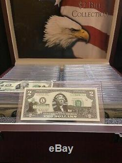 The United States of America 50 STATE TWO DOLLAR BILL COLLECTION BOXED SET