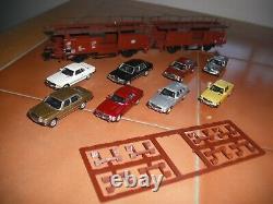 Trix DAS WERK DB Autotransporter Wagons (two sets)