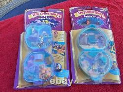 Two Vintage Bluebird Toys Disney Tiny Collection Sets Aladdin & Pocahontas 1995