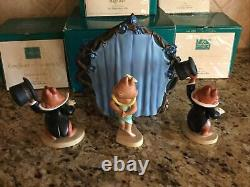 WDCC Walt Disneys Two Chips and a Miss 4 Piece Set COAs And Original Boxes