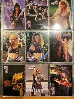 XENA Topps Series One and Two Trading Card Complete Sets All Inserts and Autog