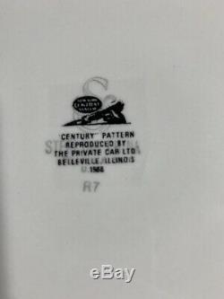 20 Century Limited Chemin De Fer De Vaisselle Pour Deux Rare! Plaques Tasse De Café