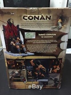 2004 Série Conan Deux Roi Conan D'aquilonia L'heure Du Dragon Box Set
