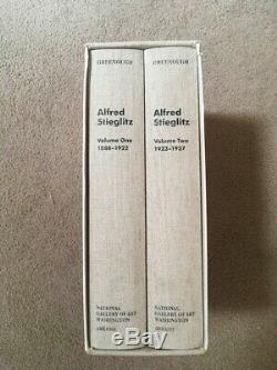 Alfred Stieglitz La Clé Set Collection De Photos Deux Volume Excellente