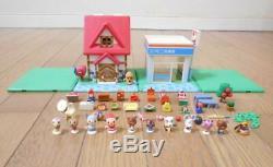 Animal Crossing Figure Set Let S Make A Deux Étages Maison Convenience Forêt Magasin
