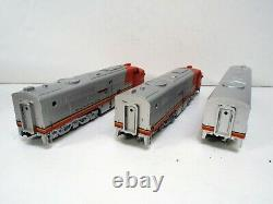 Athearn Ho 3305 Pa-1 Pwr Loco - Deux Moteurs Factices 3 Set Nos New Mib (oo1387)