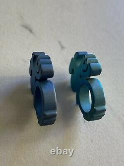 Baby Yello Hamma Yellohamma Custom Titanium Set De Deux Ouvre-bouteille Edc
