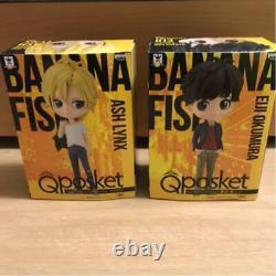 Banana Fish Figure Q Posket Ensemble À Deux Corps Japonais Anime Légendaire Produits Rares