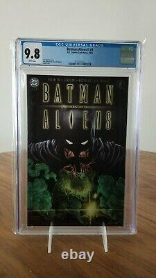 Batman Aliens Two Cgc 9.8 Set Tpb 1 2 3 Joker Chestburster Facehugger Ii'03 DC
