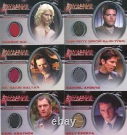Battlestar Galactica Saison Deux Costume Card Set 11 Cartes