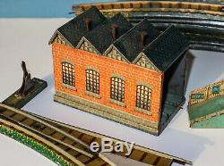 Bing Clockwork Model Railway Tabletop Set Two Rail Lnwr Scarce