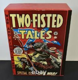 Ce Bibliothèque Deux -fisted Tales Pub Russ Cochran. 4 Régler Le Volume Avec Slipcase 1980