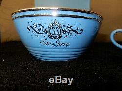 Club 33 Disneyland Tom & Jerry Bowl Et Deux Coupes Ensemble Tout Neuf
