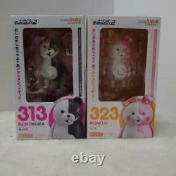 Danganronpa 2 Nendoroid Mono Bear 313 Monomi 323 Deux Ensembles