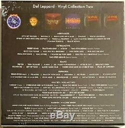 Def Leppard The Vinyl Collection Volume Two Box Set Lp Disque Vinyle Album 2