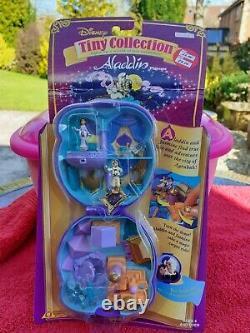 Deux Anciens Jouets Bluebird Disney Tiny Collection Sets Aladdin & Pocahontas 1995