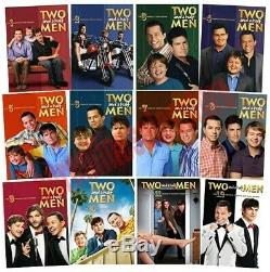 Deux Ans Et Demi Hommes Complete All Seasons 1-12 DVD Set Série Tv Show Collection &