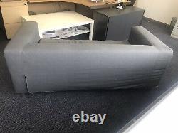 Deux Ikea Sofa Klippan, Deux Ensembles De Housses Lavables (gris/blanc), Collection Seulement
