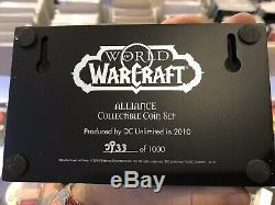 Deux World Of Warcraft Sets De Pièces (alliance Et Horde)