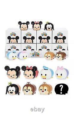 Disney Vinylmation 3 Tsum Tsum Blind Box Deux Ensembles Complets De 8 Avecchaser Sealed