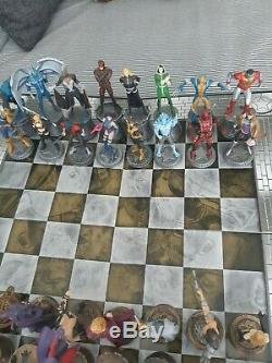 Eaglemoss Marvel / DC Collections D'échecs, Deux Ensembles Complets, Xmen / Toujours Mal