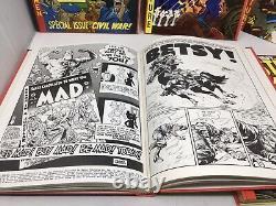Ec Bibliothèque Complète Contes Deux Fisted 4 Volume Boxed Set Hard Cover 1980 Slipcase
