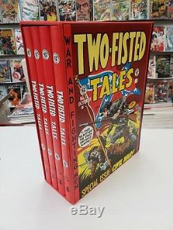 Ec Comics The Complete Tales Two-fisted Relié Set 18-41 Mt 1-4 Bd 1980