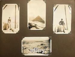 Egypte 1933-1935 Photo Album De Moteur De Voitures Camping Voyages Par Deux Agents Rha