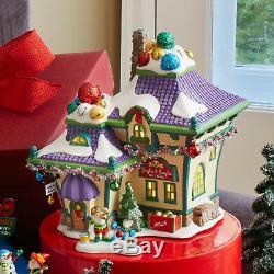 Enesco Dep 56 Pole Nord Village Jingle Bells & Jangle Set Of Two Nib