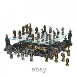 Ensemble D'échecs Dragon À Deux Niveaux