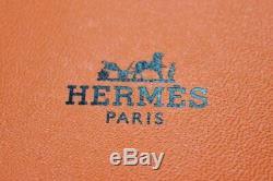 Ensemble De Deux Hermes'couvertures Nouvelles' Équestres Mini-cendriers (nouveau Dans L'encadré)