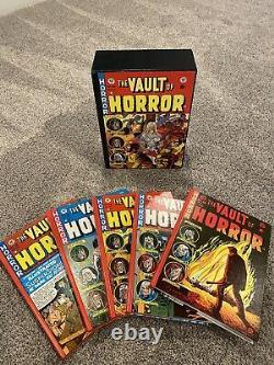 Ensemble De Deux Voûte De L'horreur, Tales Of The Crypt Hardcover Coffret Ec Comics Rare