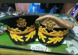Ensemble De L'armée Américaine Deux Chapeaux Généraux