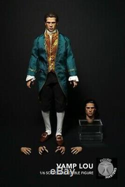 Figuremasters 1/6 Vampire Louis Vêtements Set Avecdeux Head Sculpture Toy Collection