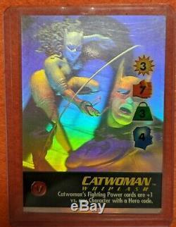 Fulgurance Holo Set 6 DC Batman Detective Avenger Catwoman Gordon Ra Two-face