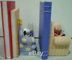Galerie Hallmark Peanuts By The Book Set De Deux Figurines Serre-livres Limitée Editio