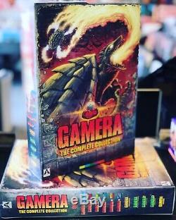 Gamera Collection 8-disc Le Complete Set Blu-ray Flèche Sold Out Deux Dernières