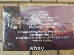 Harry Potter Tcg Base Set Booster Box Sealed + Two Player Starter Sealed Anglais