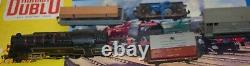 Hornby Dublo Two Rail 2-6-4 Tank Goods Set 2019 Br Avec Boîte Originale