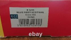 Hornby R2695 Bleu Première Classe Scotrail 156 156465 Deux Pièces Set DCC Ready