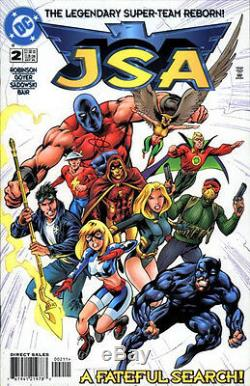 Jsa (1999) 1-87 Complete Set / Lot Justice Society Of America Terre Deux 2 Robinson