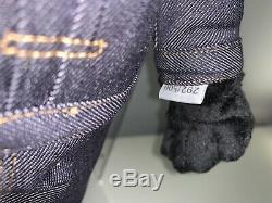 Kaws Dior Bff En Peluche (jeu De Deux) Rose Et Noir De Collection Limitée À Seulement 500 Made