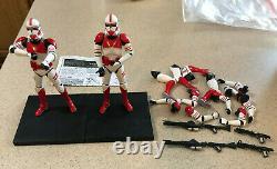 Kotobukiya Artfx + Star Wars Shock Trooper Échelle 1/10 Lot De Deux Statue Set