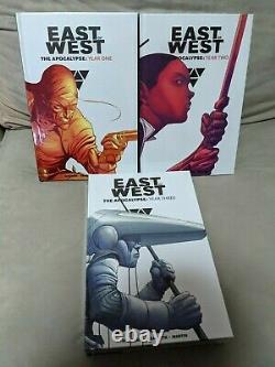 L'est De L'ouest 3-hc Vol Set! - Un An, Deux Ans, Trois Ans! Par Jonathan Hickman