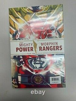 Lcsd 2019 Mighty Morphin Power Rangers Année Un - Deux Hc Deluxe Set Hardcover Mj