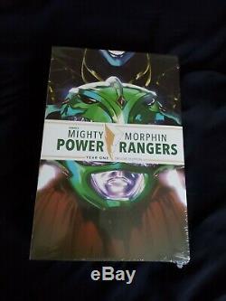 Lcsd Mighty Morphin Power Rangers Année Et Deux Relié Deluxe Set Scellé