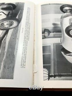 Le Grand Prix Voiture Par Pomeroy 1954 Deux Volumes Mis Hardbound Édition Books