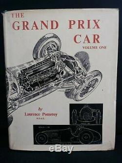Le Grand Prix Voiture Par Pomeroy 1954 En Deux Volumes Set + Non Officiel Volume 3