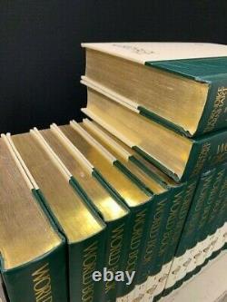 Le World Book Encyclopedia 22 Volume Set 1991, Plus Dictionary Dans Deux Völs Mn767