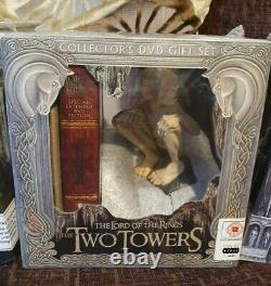 Lord Of The Rings Collectors DVD Gift Sets Complete Set Fellowship/return/two To